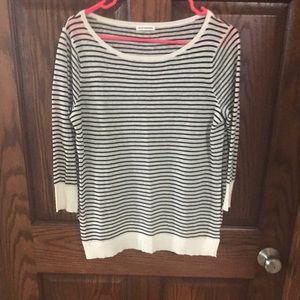 Club Monaco striped sweater